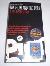 The Filth and the Fury - A Sex Pistols Film (VHS, 2000) - PROMO - STILL SEALED