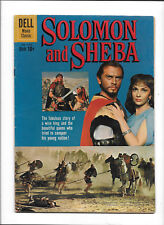 "FOUR COLOR #1070 [1959 VG+] ""SOLOMON & SHEBA""  MOVIE CLASSIC  PHOTO COVER!"