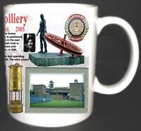 ELLINGTON COLLIERY COAL MINE MUG. LIMITED EDITION GIFT MINERS NORTHUMBERLAND PIT