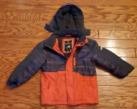 FREE COUNTRY Winter Coat Snow Ski Hooded Size Large 5/6 Boys/Kids Youth 61-3