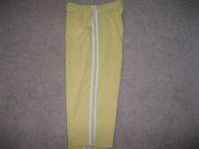 Women's CASCADE SPORT Yellow Capri Athletic Pants Size M