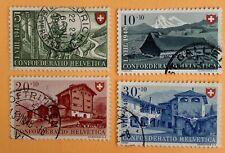 Switzerland 1947 Pro Patria Stamps Used