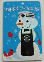 Steak 'n Shake Gift Card - Christmas / Snowman - No Value - I Combine Shipping
