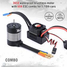 1/10 BRUSHLESS 540 Motor W/ ESC Water Proof 3100KV  60A ESC F/B/R