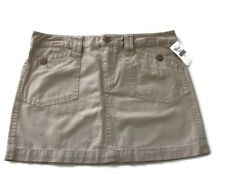 Old Navy Womens Size 6 A-line Skirt Beige Pockets Unlined M9
