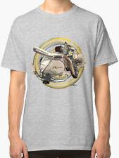 Sky Team Pit Bike Motorcycle engine Vintage Retro TShirt INISHED Productions