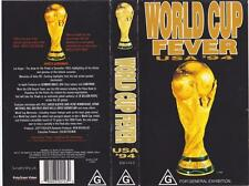WORLD CUP FEVER USA 94 MINT SEALED   VHS VIDEO PAL~A RARE FIND