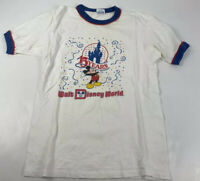 VTG 80s USA Made Ringer t-shirt Medium Walt Disney World 15th Anniversary 1986