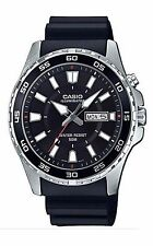 Casio Men's Super Illuminator Watch, Day/Date, 50 Meter MTD-110-1AV