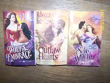 Lot 3 different Romance Soft Books, Gail Link, Rebecca Brandewyne, Sara Blayne