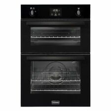 Stoves BI900G Built in 60cm Wide Gas Double Oven Black Tower Unit a/a Rated