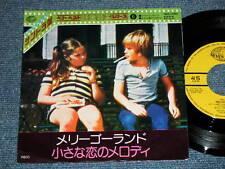 "ost L'ULTIMA NEVE DI PRIMAVERA Japan 1977 NM 7""45  BRUNO NICOLAI MELODY FAIR"