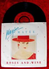Single Mayte Matée Roses and Wine (Baccara) 1987