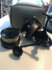 MITCHELL Sea Fishing Reel 498 With Spare Graphite Spool Bronze Bushings France