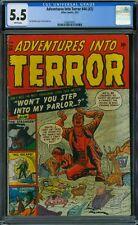 Adventures Into Terror 44 (#2) CGC 5.5 - White Pages