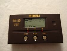 Yamaha YT-240 Violin Cello Viola Bass Auto Tuner YT240 EUC WORKS
