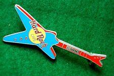 HRC Hard Rock Cafe Tijuana Blue Red Explorer Guitar