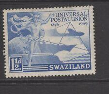 SWAZILAND 1 1/2d BLUE 1949 UPU Mounted Mint