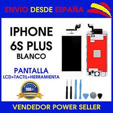 PANTALLA PARA IPHONE 6S PLUS LCD + TACTIL BLANCA BLANCO TOUCH DISPLAY AAA+