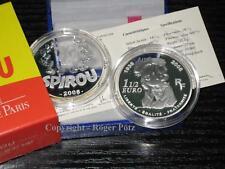 1,50 Euro 2008 Spirou Silber PP sehr seltene Münze