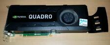 HP Nvidia Quadro K5000 Grafikkarte PCIe 16x GDDR5 4GB DVI-I DVI-D DP [used]