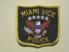 patch MIAMI VICE POLICE patch