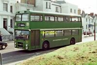 PHOTO  MAIDSTONE & DISTRICT BUS NO. 5896 (LEYLAND OLYMPIAN) IN LONDON ROAD 1986
