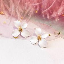 Fashion Flower Ear Stud Personality Temperament Earrings Women Charm Jewelry
