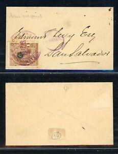 EL SALVADOR Postal History: Lot #5 1899 1c Miniature SONSONATE BLUE OVPT $$$$