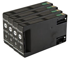 4 Black T7021 non-OEM Ink Cartridge For Epson Pro WP-4095DN WP-4515DN