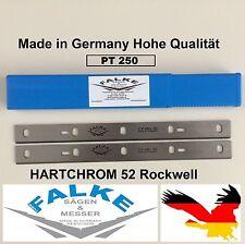 Hobelmesser Maschine für Kity DRA 260 (2 Stück) 258x22x2mm Hohe Qualität