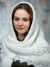SPRING SALE! RUSSIAN ORENBURG LACE KNITTED GOAT SHAWL SCARF PL027R