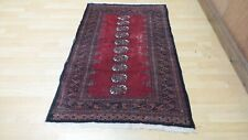 """Oriental Prayer CARPET RUG Hand Made Finely knotted WOOL 4FT 9"""" x 3FT"""