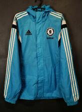 MEN'S ADIDAS FC CHELSEA 2014/2015 JACKET TRAINING SOCCER FOOTBALL BLUE SIZE M