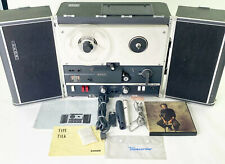 SONY TC-500A REEL TO REEL VACUUM TUBE TAPE RECORDER FULLY TESTED AND WORKING!