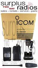 Icom F4001 RC 4W 16CH UHF 450-512mhz Radio Durable Police Fire EMS Aussie CB