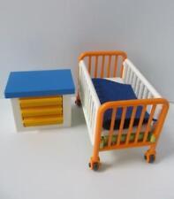 Playmobil hospital muebles: Cama de bebé o niño/Unidad Cuna & Cajón Nuevo