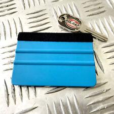 Vinyl Application Tool Squeegee, stickerbombing felt edged100x70mm wrap / oilcan