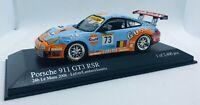 """Minichamps 1/43 Porsche 911 GT3 RSR """"Ice Pol Racing"""" 24Hs Le Mans 2006 400066473"""
