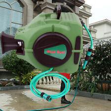 20M Automatik Schlauchtrommel Wasserschlauch Gartenschlauch Aufroller