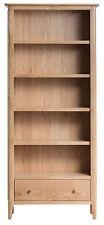 Bergen Light Oak Tall Bookcase / Bookshelves / Shelving - Scandinavian Retro