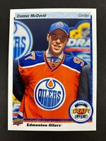 Connor McDavid 2015-16 Upper Deck Top Draft Pick Rookie RC 🔥📈