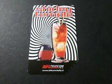 Phone Card Italy, Italy, Apéro Shirley Temple, Telecom, Used,