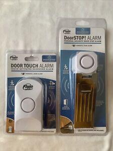 New Flipo Door Stop Portable Security Door Alarm 95 dB & Touch Alarm 100db