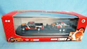 #1 Martin Truex JR  Winners Circle Truck and Trailer 1/64 NASCAR Toy car Lot