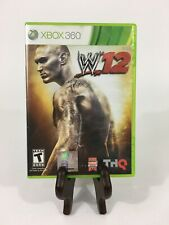 WWE 12 - Xbox 360 - Free Shipping