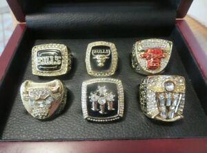 Michael Jordan 6 Championship Ring In Display Box