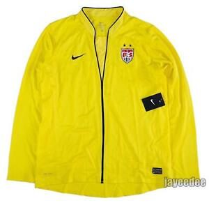 NIKE 2011 USA WOMEN'S USWNT SOCCER AUTHENTIC GOALKEEPER JERSEY TEAM ISSUE PE XL