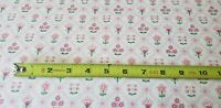 Vintage Floral Shabby Chic Home Decor Fabric Pink Patchwork Small Scale BTY