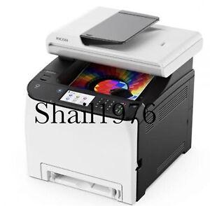 Ricoh SP C262SFNW Color Laser Multifunction Printer Low P/C:24000 PRINT,SCAN,FAX